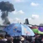 Во время авиашоу в Таиланде разбился истребитель: появилось видео ужасной катастрофы