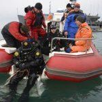 В сети появилось видео работы водолазов в районе катастрофы российского Ту-154