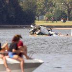 На праздновании Дня Австралии разбился самолет: опубликовали фото и видео