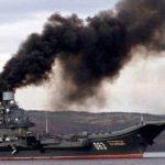 Российский авианосец «Адмирал Кузнецов» получил унизительную кличку от британских войск