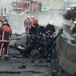 Вертолет с россиянами разбился в Стамбуле: появились жуткие кадры