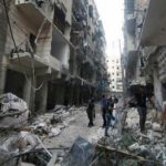 Очередному авианалету подвергся сирийский город, который пострадал от химической атаки