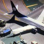 Самолет столкнулся с грузовиком в США: есть пострадавшие