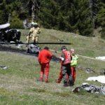 В Альпах разбился частный вертолет: есть жертвы