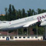 Появилась информация о первом рейсе Qatar Airways в Украине