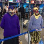 Фото дня: в сети умиляются украинскими бабушками, которые летят в Будапешт